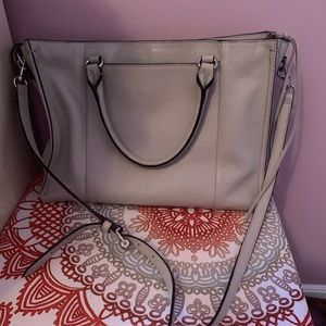 Rebecca Minkoff grey shoulder bag